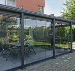 A Garden Glass Room Enables You To Embrace The Day When Sun Is Out And Be Protected From Rain On Miserably