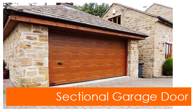 Gliderol sectional garage door