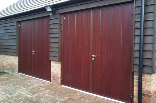 Insulated Side Hinged Doors The Garage Door Centre