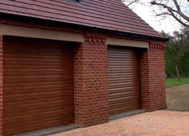 Double Novoroll Garage doors
