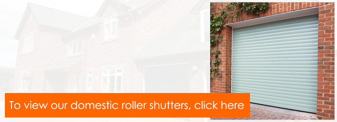 The Garage Door Centre range of domestic roller garage doors