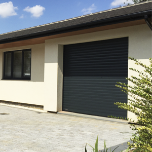 Roller shutter garage doors at The Garage Door Centre