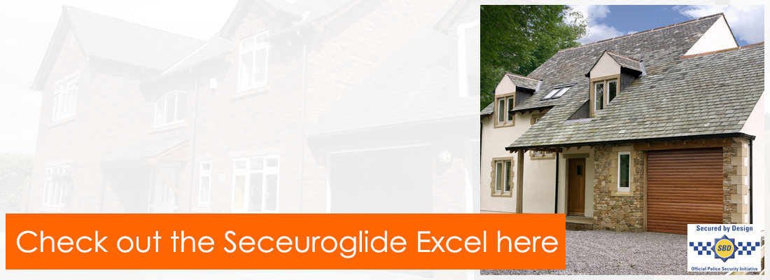 The SeceuroGlide Excel - Secured by Design security roller garage door