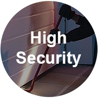 High Security Garage Doors
