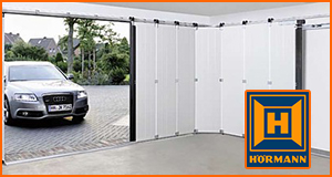 Hormann Round the Corner Garage Doors