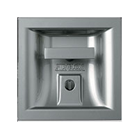 Platinsilver Handle - Silvelox Trackless Sectional