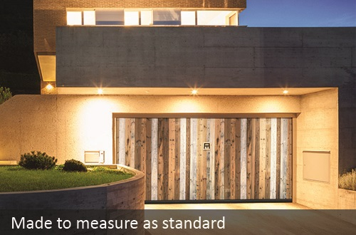 Silvelox doors are made to measure as standard