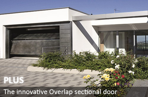 Silvelox manufacture the unique and overlap sectional door