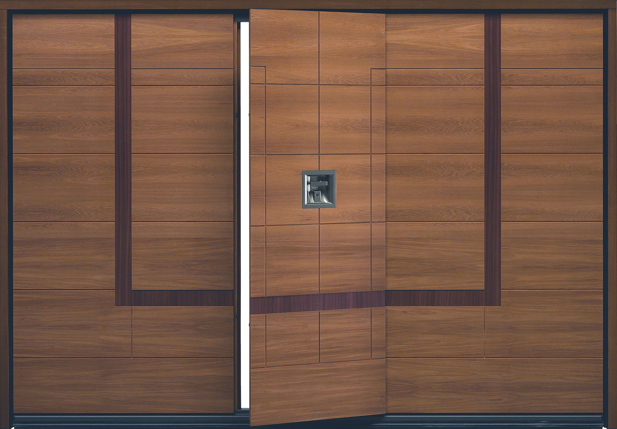 Silvelox Garage Doors High Quality Manual Or Automatic