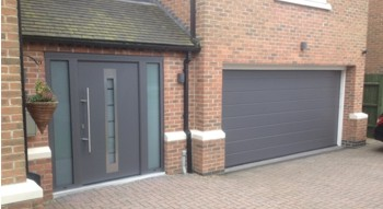 Front Entrance Doors - Horman, Aluminium and UPVC insulated Garage ...