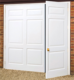 Awesome GRP Side Hinged. Wessex GRP Side Hinged Maintanance Free Garage Doors