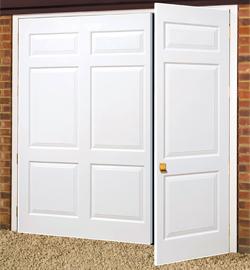 Charmant GRP Side Hinged. Wessex GRP Side Hinged Maintanance Free Garage Doors