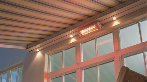 Hệ thống sưởi và chiếu sáng - Mái hiên Samson
