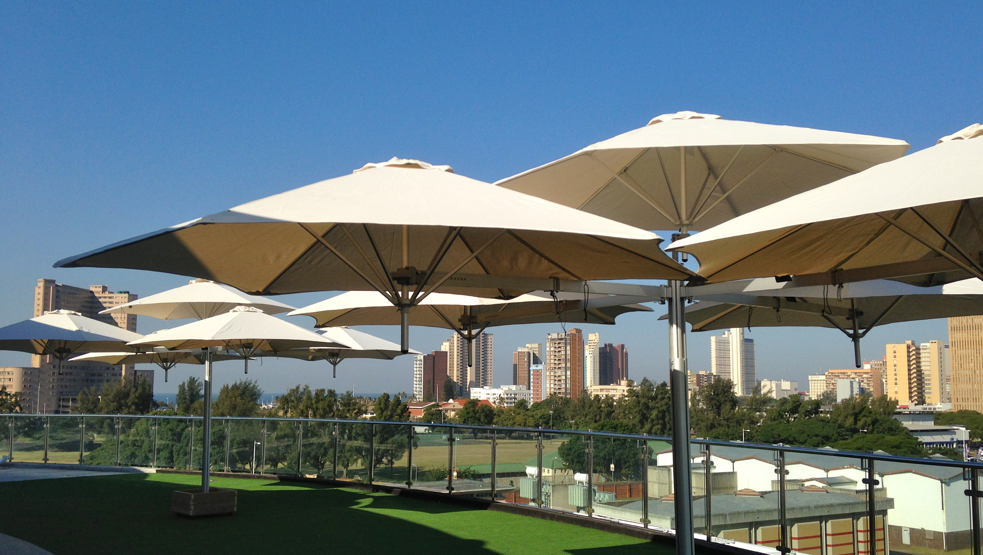 Parasols and Larage Umbrellas - Samson Awnings