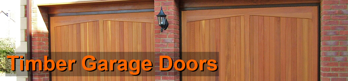 Timber Garage Doors from The Garage Door Centre