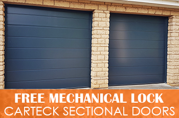 FREE MECHANICAL LOCK With Carteck Sectionals