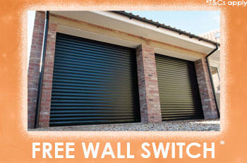 FREE WALL SWITCH With Insulated Gliderol Roller Doors