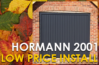 Hormann 2001 Up & Over LOW PRICE INSTALL