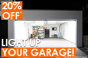 20% OFF LED Lighting!