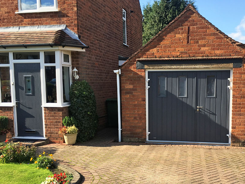 Photo Gallery For Side Hinged Garage Doors Pictures Of