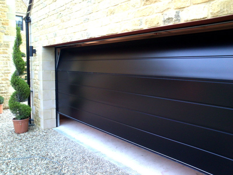 Double black Carteck steel Sectional