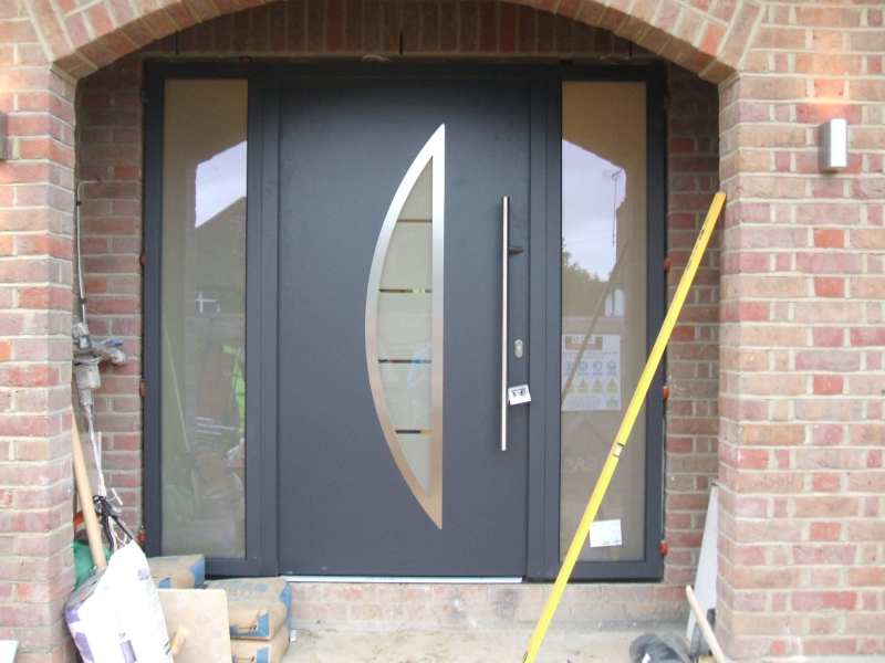 Hormann ThermoPro Style 900 Entrance Door in Anthracite