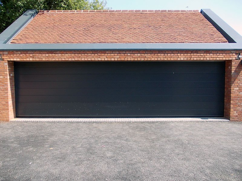 Garage doors gallery pictures of garage door types for Oversized garage door
