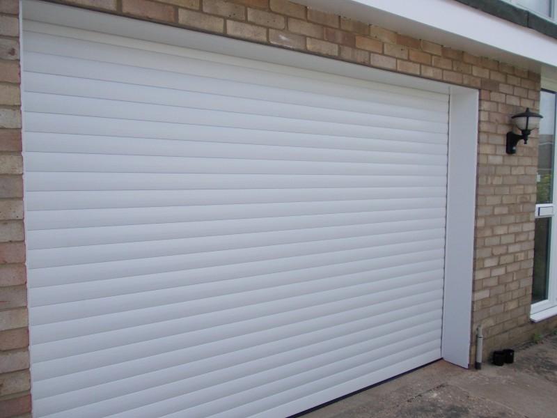 White SWS Seceuroglide aluminium roller & Garage Doors Gallery - Pictures Of Garage Door Types Roller Shutter ...