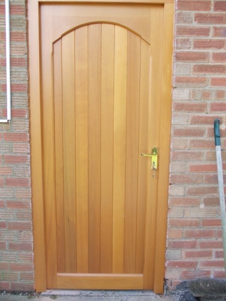 Woodrite Chartridge Timber Pedestrian Door