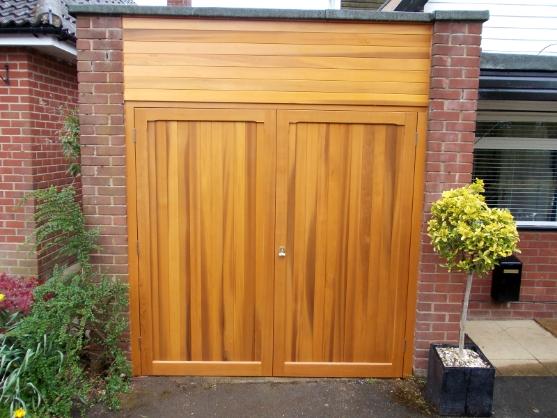 Woodrite timber side hinged