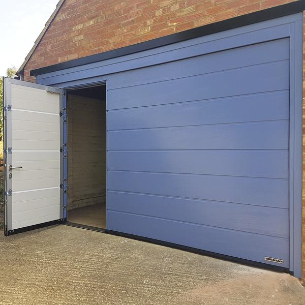 Hormann Lpu 42 With Wicket Door Inset Hormann Sectional