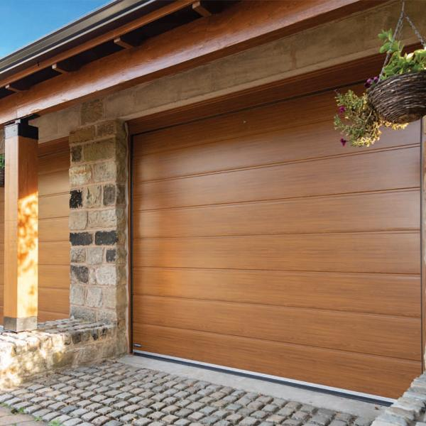 Carteck Centre Ribbed Carteck Sectional Doors Steel