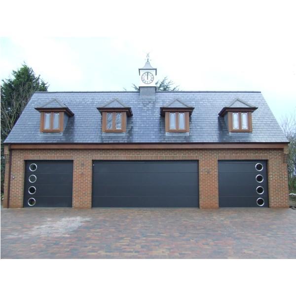 Carteck Solid Carteck Sectional Doors Steel The Garage
