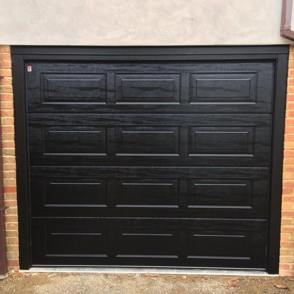 Carteck Georgian Panelled Carteck Sectional Doors Steel