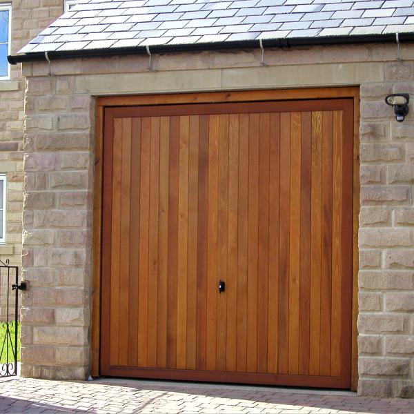 Cedar Door Bakewell Cedar Door Up And Over Doors Timber