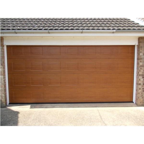 Hormann Lpu 42 S Panelled Decograin Hormann Sectional Doors Steel