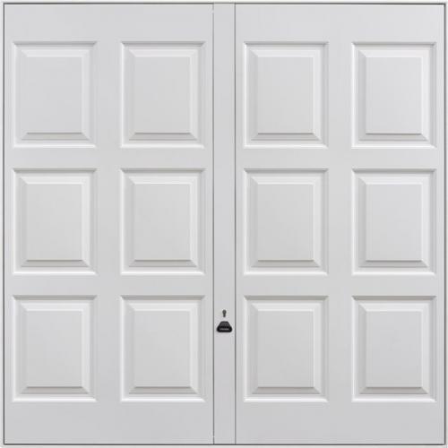 Garador sherborne garador up and over doors upvc the for Upvc garage doors