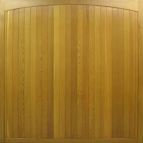 cedar timber door haddon vertical boarded smooth design