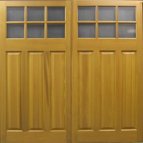 cedar door middleton up and over timber garage door with windows