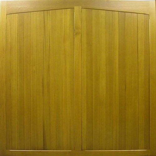 cedar door newstead side-hinged appearance up and over garage door vertical design