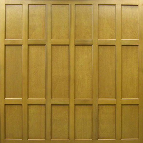 cedar door ollerton classic panelled timber up and over garage door