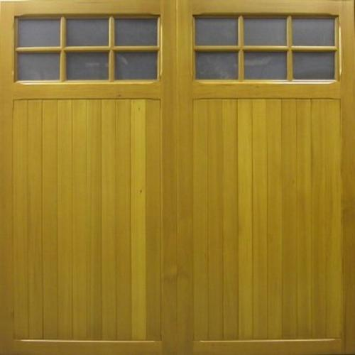 cedar door southwell timber up and over garage door with windows