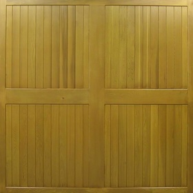 Cedar - Ashford Timber up and over garage door