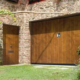 Silvelox Vip With Pedestrian Door Silvelox Bespoke Doors